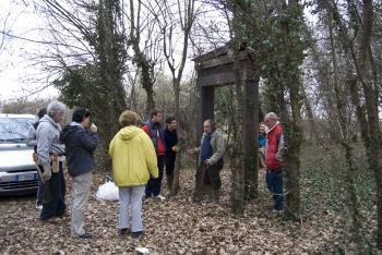 Manutenzioni (2012 marzo 04, 11, 18) effettuate dall\'Associazione pro ex Cimitero Ebraico Bosco della Man di Ferro.